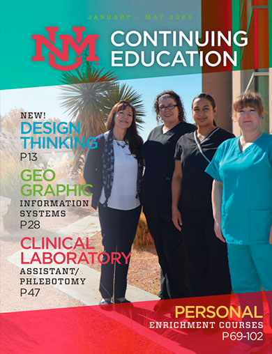 UNM Continuing Education Summer 2018 Catalog