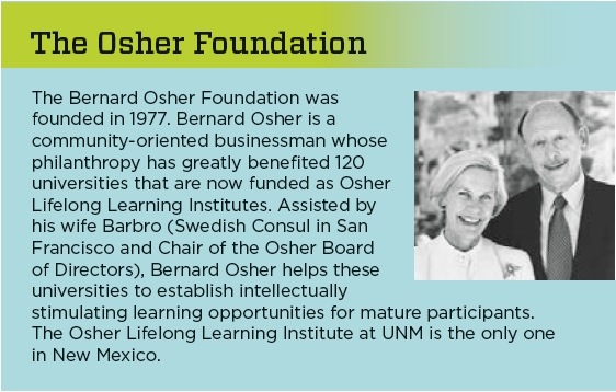 Osher Foundation History